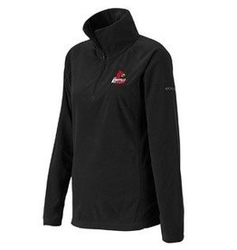 PULLOVER, LADIES, 1/4 ZIP, GLACIAL, BLACK, UL