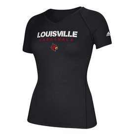Adidas Sports Licensed TEE, LADIES, ADIDAS, SIDELINE, BLACK, UL