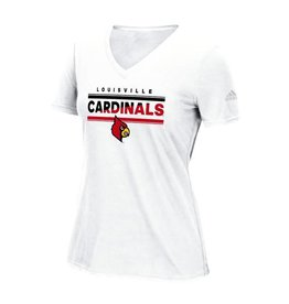 Adidas Sports Licensed TEE, LADIES, SS, ADIDAS, WHITE, UL