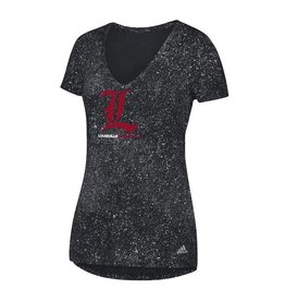 Adidas Sports Licensed TEE, LADIES, ADIDAS, LOGO, BLACK, UL
