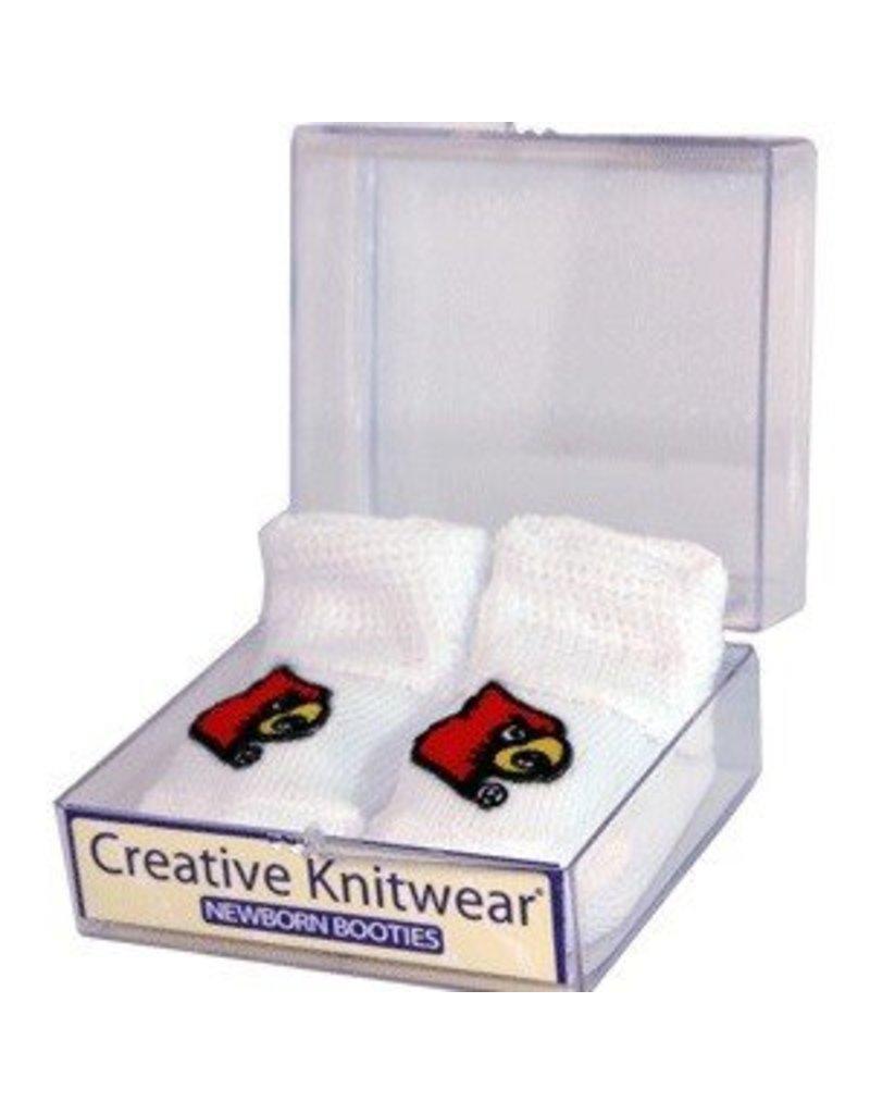 Creative Knitwear BOOTIES, INFANT, WHITE, UL
