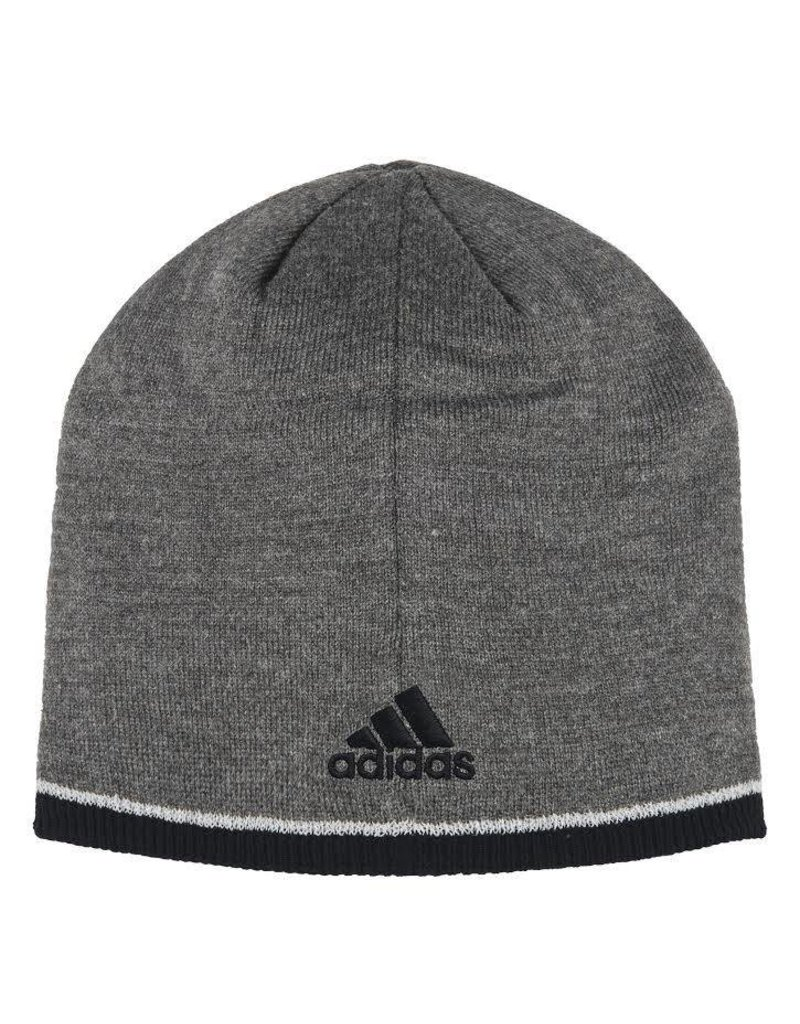 Adidas Sports Licensed HAT, KNIT, ADIDAS, PLAYER, GRAY, UL