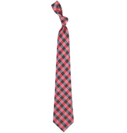 Eagles Wings Neck Tie TIE, WOVEN POLY, CHECK, UL