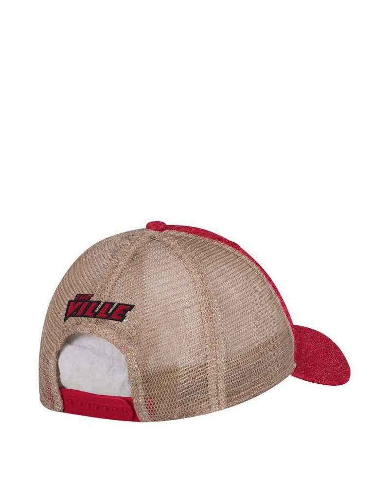 HAT, ADJUSTABLE, ADIDAS, SLOUCH, RED, UL
