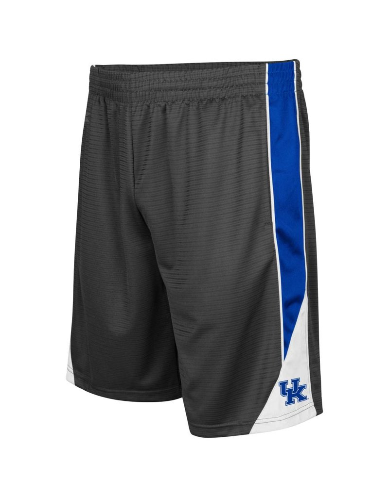 Colosseum Athletics SHORT, TURNOVER, CHARCOAL/ROYAL, UK