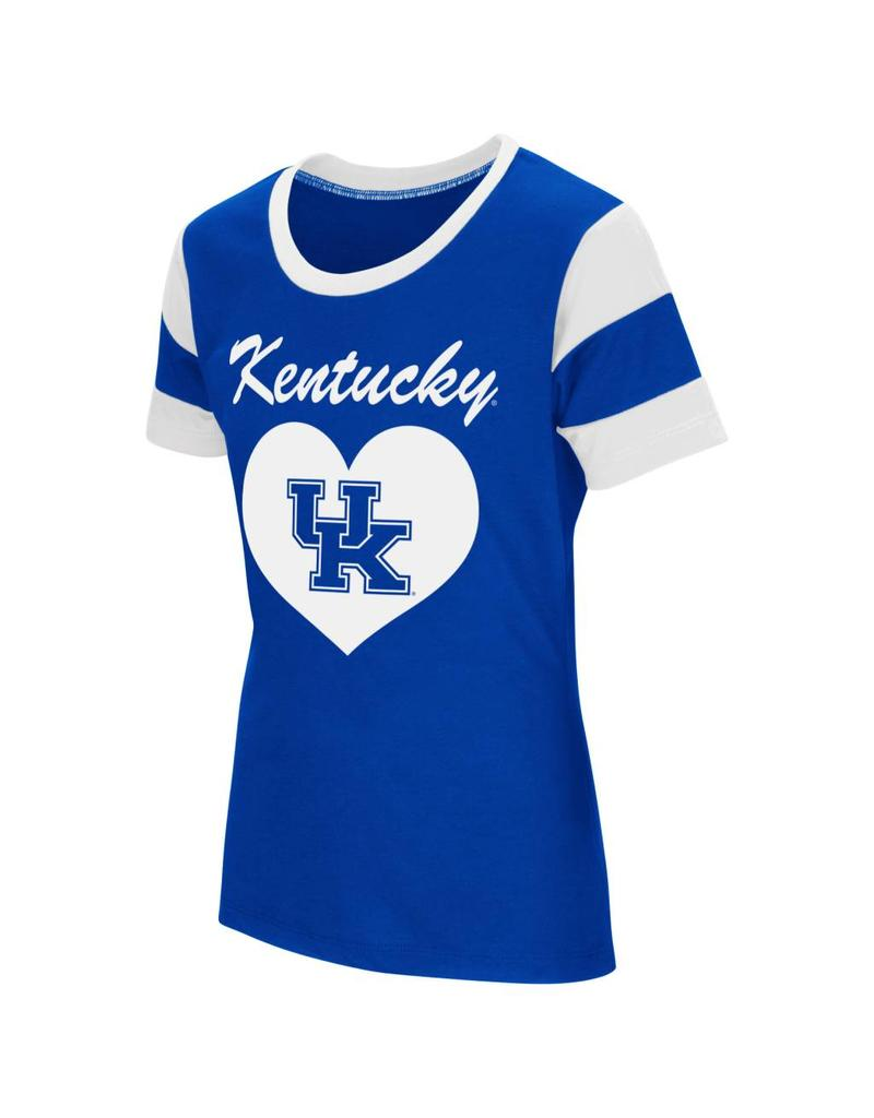 Colosseum Athletics TEE, YOUTH, GIRLS, SS, MEDAL, ROYAL, UK