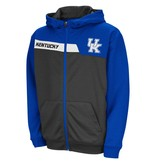 Colosseum Athletics HOODY, YOUTH, FULL-ZIP, JACKKNIFE, ROYAL/CHARCOAL, UK