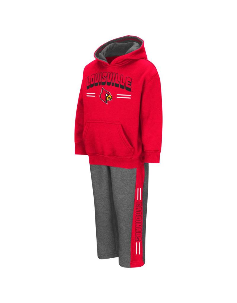 Colosseum Athletics TODDLER SET, PUNTER HOODY, RED/GRAY, UL