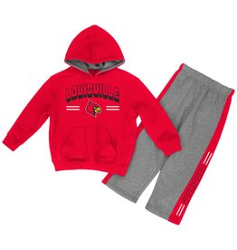 Colosseum Athletics INFANT SET, PUNTER HOODY, RED/GRAY, UL