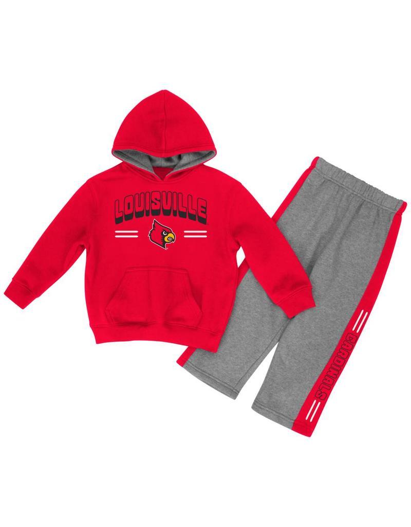 Colosseum Athletics INFANT SET, PUNTER HOODY, RED/GRAY, UL