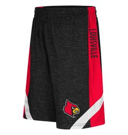Colosseum Athletics SHORT, YOUTH, SETTER, BLACK/RED, UL