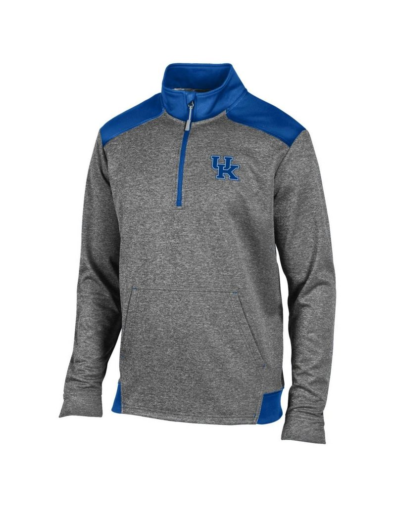 Champion Products PULLOVER, 1/4 ZIP, UNLIMITED, CHAR/ROY, UK