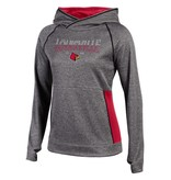 Champion Products HOODY, LADIES, UNLIMITED, CHAR/RED, UL