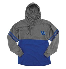 Boxercraft HOODY, LADIES, LIGHTWEIGHT, ROYAL/GRAY, UK