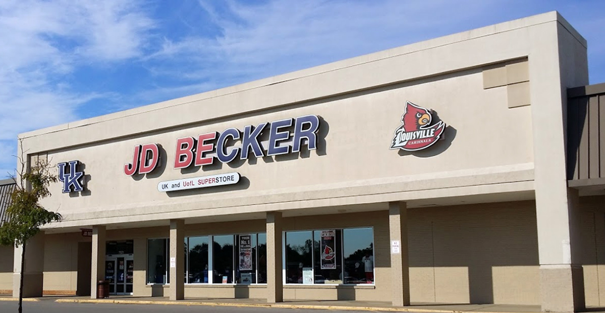 6c08b9ebca0 Retail Locations - JD Becker s UK   UofL Superstore