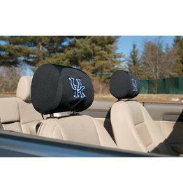 BSI Products HEADREST COVER, UK 1 PR. Black