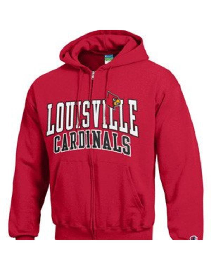 Champion Products HOODY, RED, FULL ZIP, VERSA (MSRP $70.00), UL