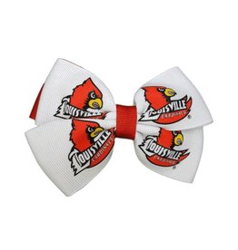 BOW, PINWHEEL, RED/WHITE, UL