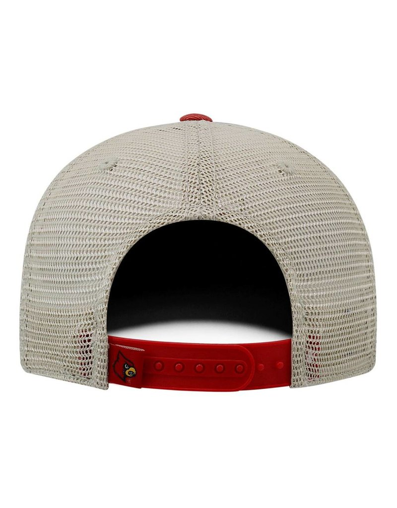 Top of the World HAT, ADJUSTABLE, OFFROAD, RED, UL