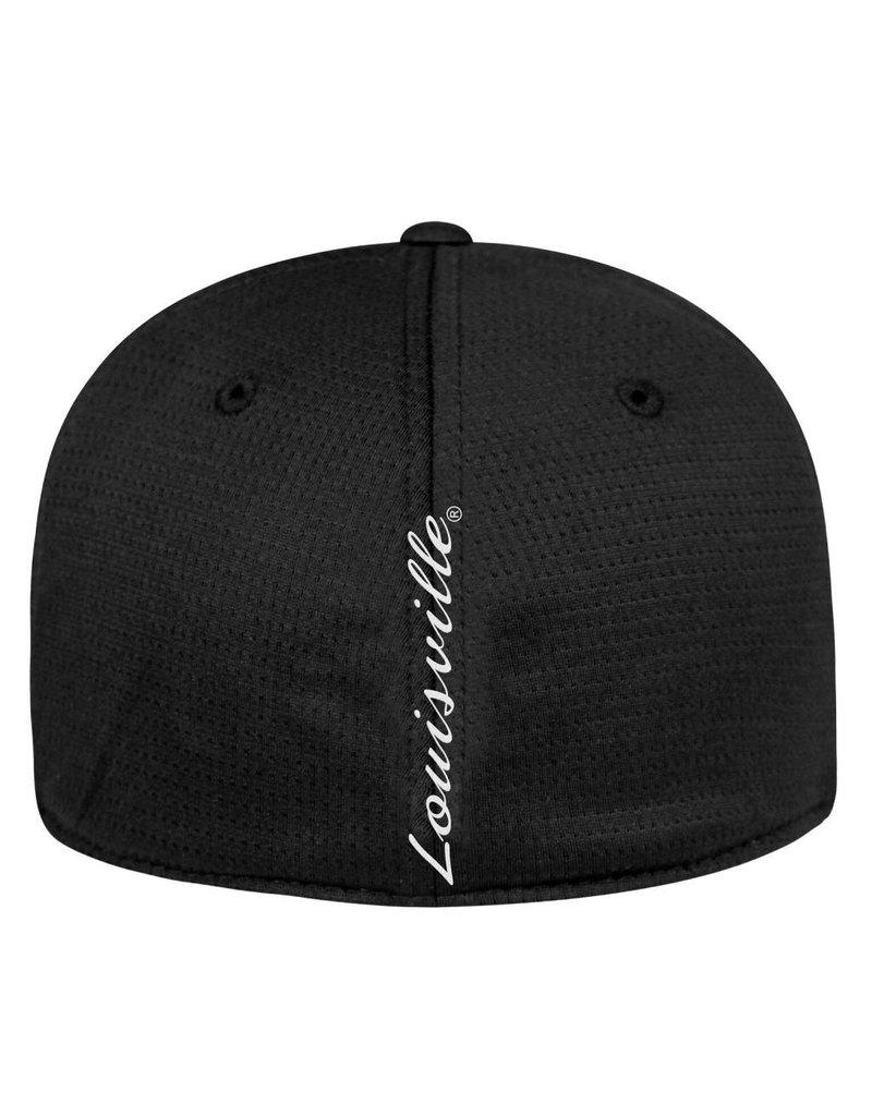 Top of the World HAT, FLEX FIT, PARALLAX, BLACK, UL