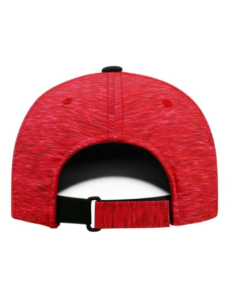 Top of the World HAT, ADJUSTABLE, WARPSPEED, RED, UL