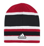 Adidas Sports Licensed KNIT, ADIDAS, CUFFED, RED/WHT/BLK, UL
