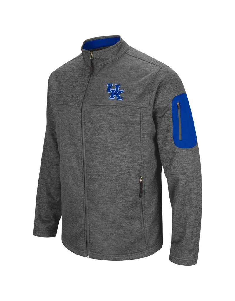 Colosseum Athletics JACKET, FULL-ZIP, ANCHOR, CHARCOAL, UK