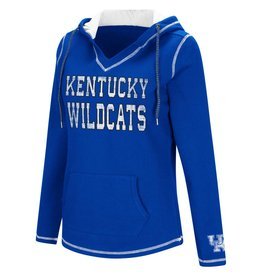 Colosseum Athletics HOODY, LADIES, SPIKE, ROYAL/WHITE, UK