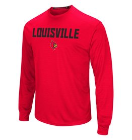 Colosseum Athletics TEE, LS, SETTER, RED, UL