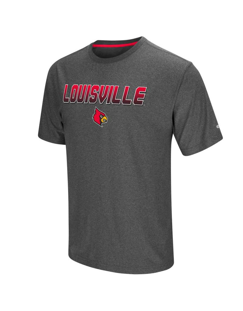 Colosseum Athletics TEE, SS, SLEEPER, CHARCOAL, UL