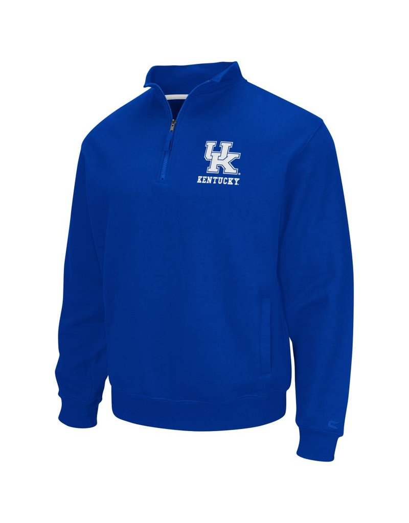 Colosseum Athletics PULLOVER, 1/4 ZIP, ZONE, ROYAL, UK