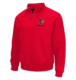 Colosseum Athletics PULLOVER, 1/4 ZIP, ZONE, RED, UL