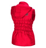 Colosseum Athletics VEST, LADIES, DISCUS, RED, UL