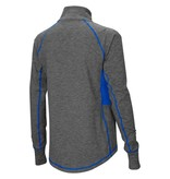 Colosseum Athletics PULLOVER, LADIES, 1/4 ZIP, SABRE, CHARCOAL/ROYAL, UK