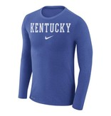 Nike Team Sports TEE, LS, NIKE, MARLED, ROYAL, UK