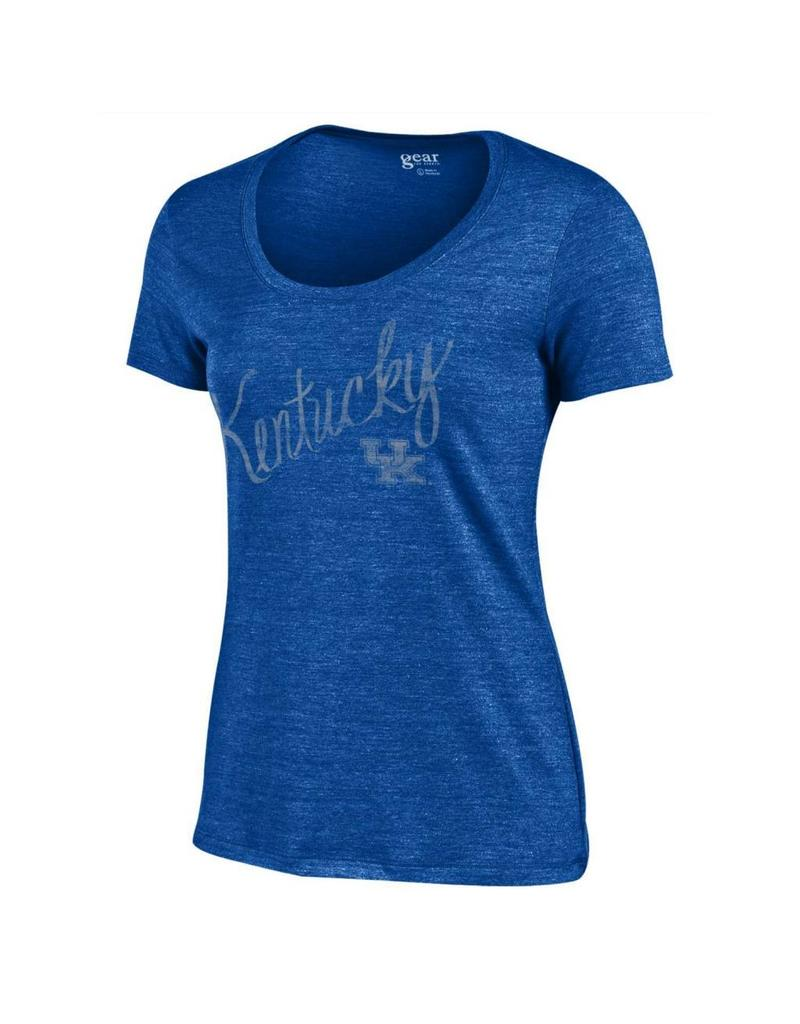 Gear for Sports TEE, LADIES, SS, SCOOP, ROYAL, UK