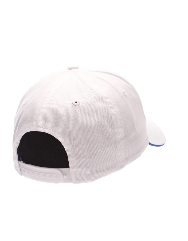 HAT, ADJUSTABLE, CROSSOVER, WHITE, UK