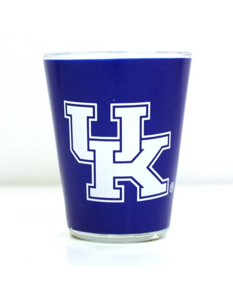 Kentucky Souvenirs SHOT GLASS, 2-TONE, 2oz, UK