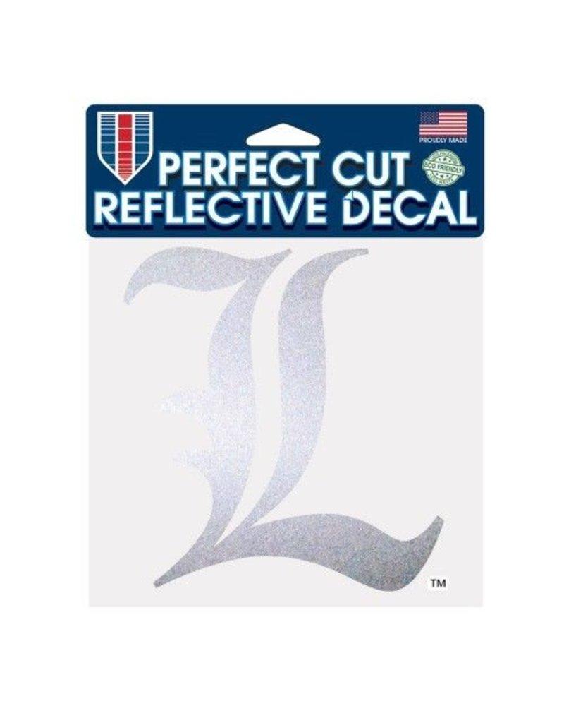 "Wincraft Inc DECAL, REFLECT PERF CUT 6x6 IN ""L"", UL"