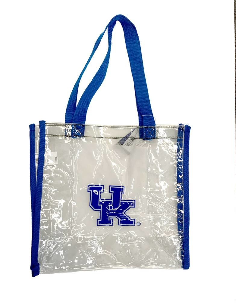 TOTE BAG,CLEAR,UK Clear 11X11