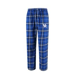 Concept Sports PANT, PLAID FLANNEL, ROYAL/BLACK, UK