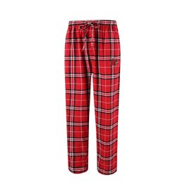 Concept Sports PANT, FLANNEL, RED/BLK, UL