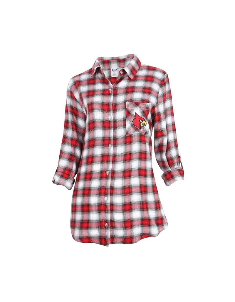 Concept Sports NIGHTSHIRT, LADIES, FORGE, RED/WHT, UL