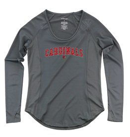 Boxercraft TEE, LADIES, LS, GRANITE, UL
