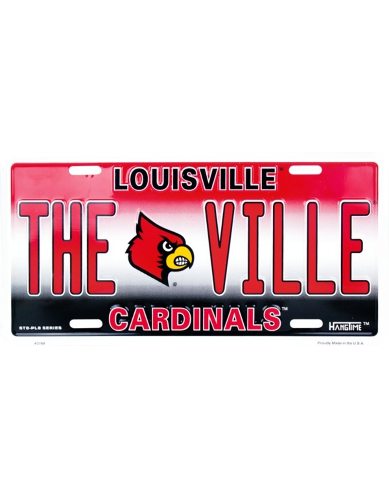 Dixie Seal & Stamp LICENSE PLATE, METAL, THE VILLE, UL