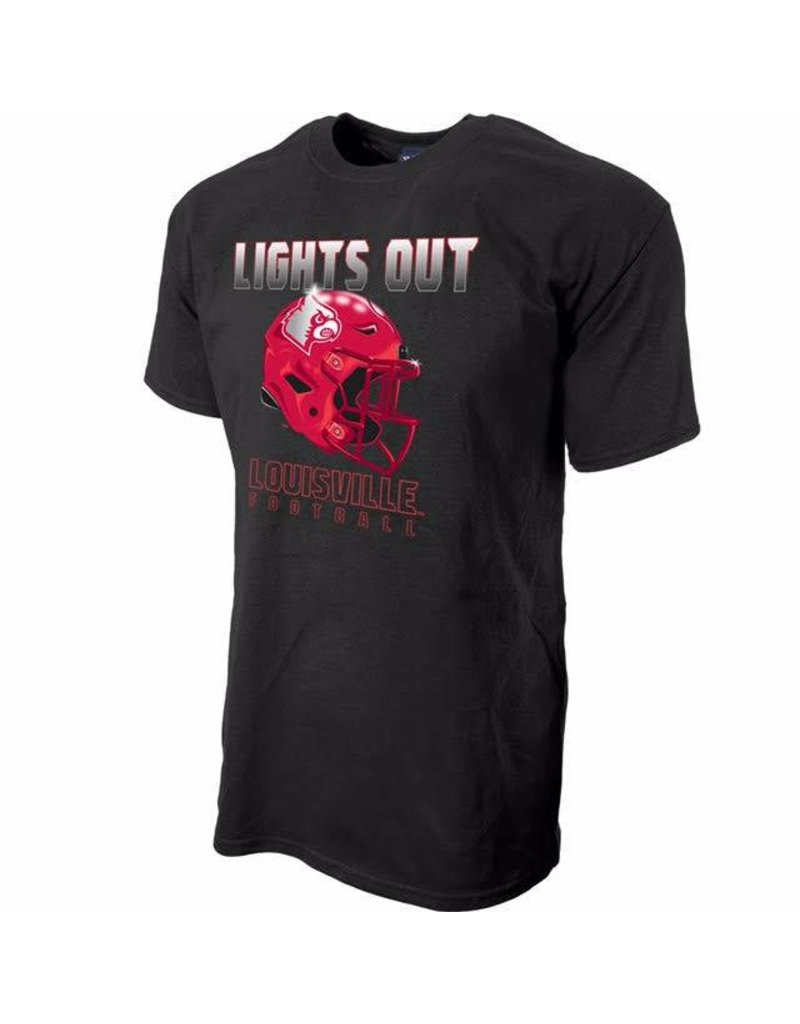 Step Ahead Sportswear TEE, BLACK OUT, LIGHTS OUT, UL