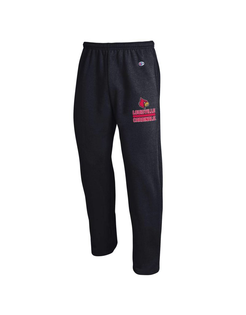 Champion Products PANT, FLEECE, OPEN LEG, BLACK, UL