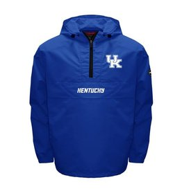 MTC Marketing PULLOVER, 1/4 ZIP, RAIN, ANORAK, ROYAL, UK