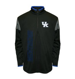MTC Marketing PULLOVER, 1/4 ZIP, VAPOR, BLACK, UK