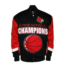 MTC Marketing JACKET, CHAMP, BLK/RED, UL